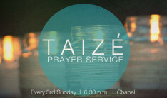 Monthly Taize Worship