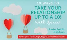 Relationship Workshop Coming Up April 29