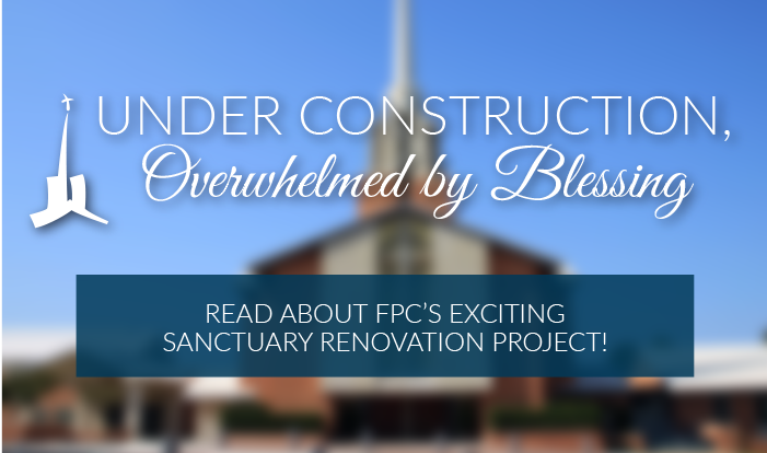 FPC's Sanctuary Undergoes Exciting Renovation!