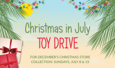Christmas in July Toy Drive